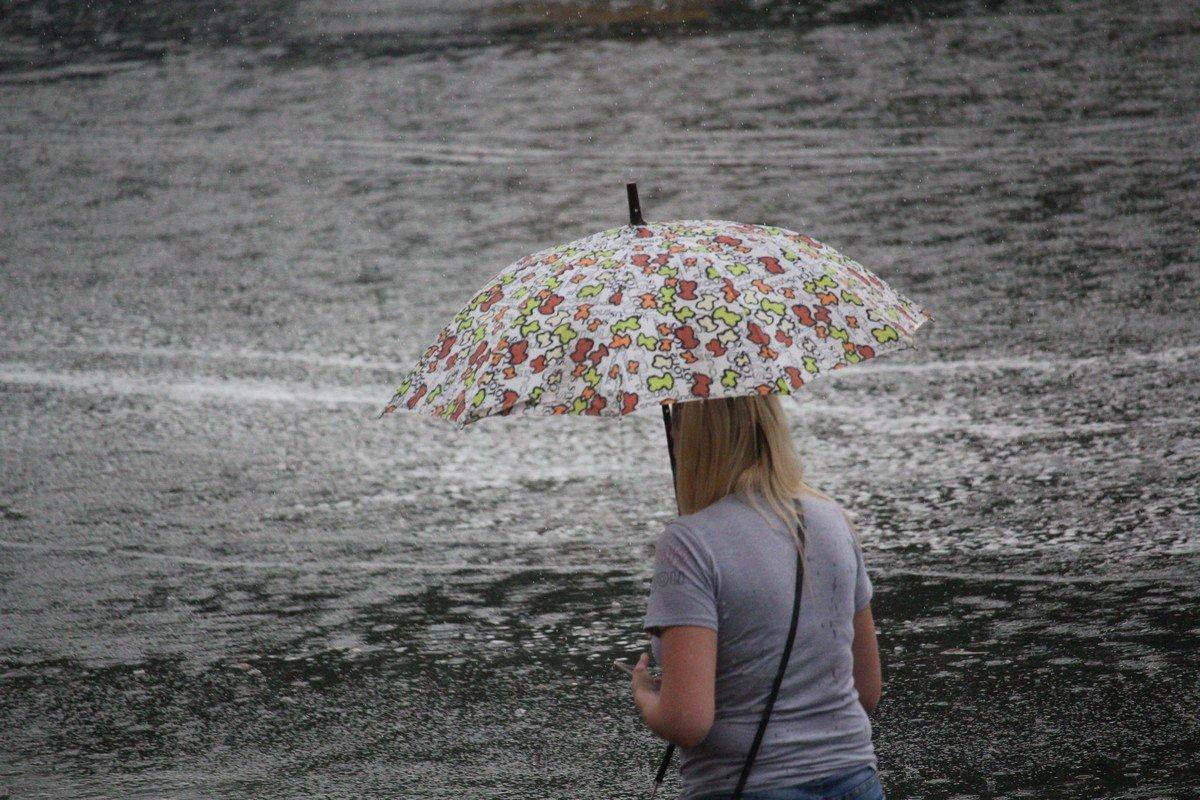Под таким зонтом, только с хорошим настроением