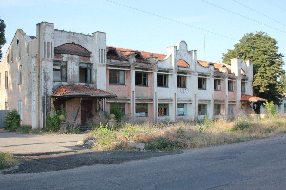 Когда-то в этом здании был универсам