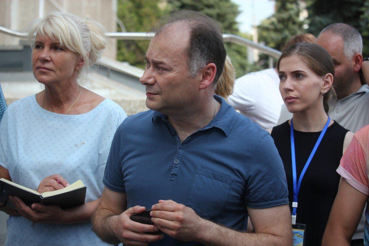 Андрей Фисак выслушал активистов