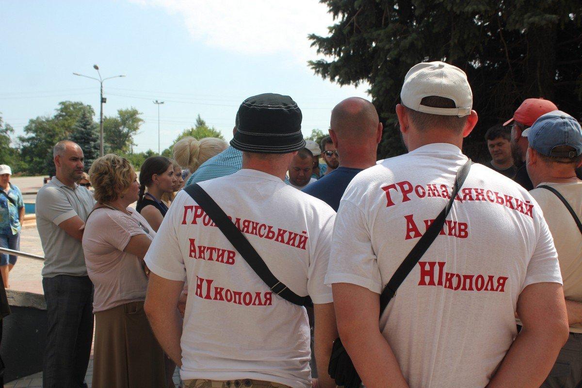 Проезжая часть на Херсонской была перекрыта активистами с 13 на 14 июля с 17:00 до 9:00