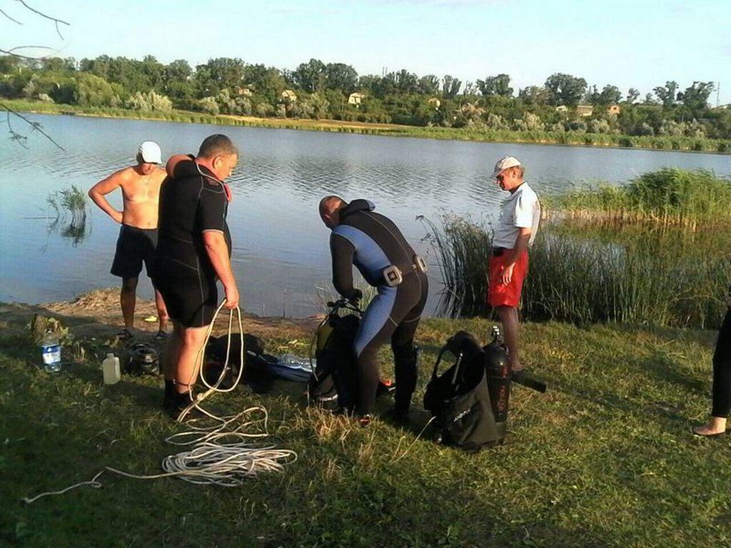 Под Никополем нашли тело рыбака