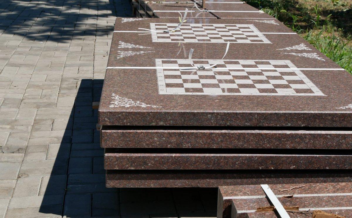 В парке готовят место для интеллектуальных игр