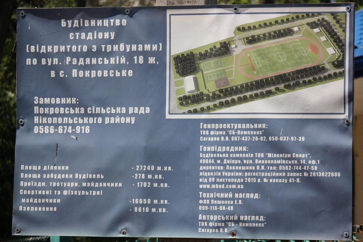 На территории комплекса есть корты, стадионы и площадки для других спортивных игр