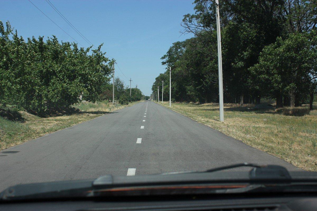 Дороги в селе Покровское
