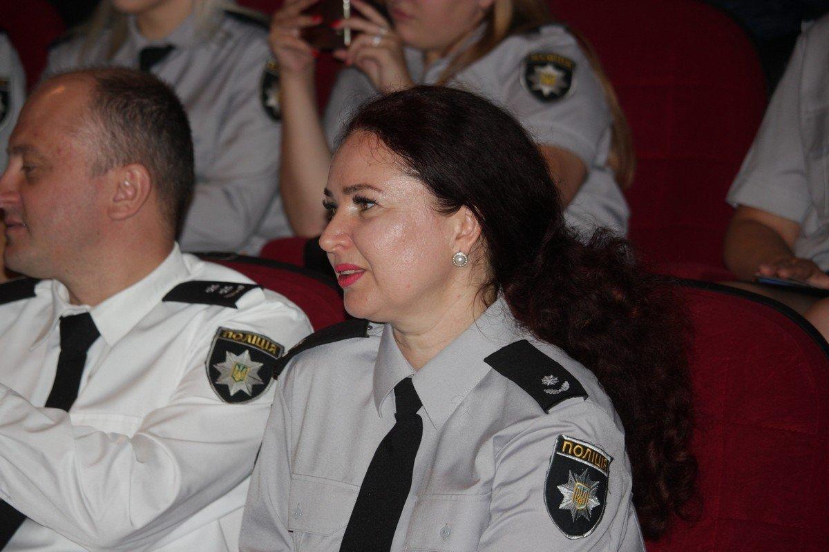 Начальник пресс-службы Никопольского отдела полиции Наталья Булатецкая