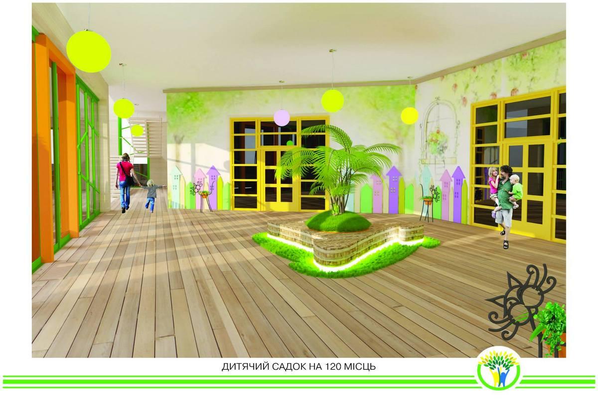 Так будет выглядеть новый детский сад
