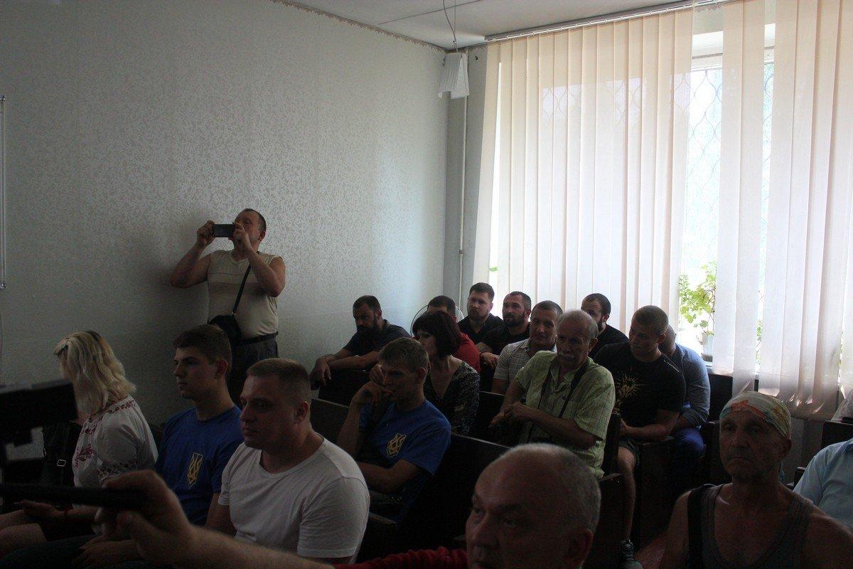 Поддержать Кириллова пришла общественность города