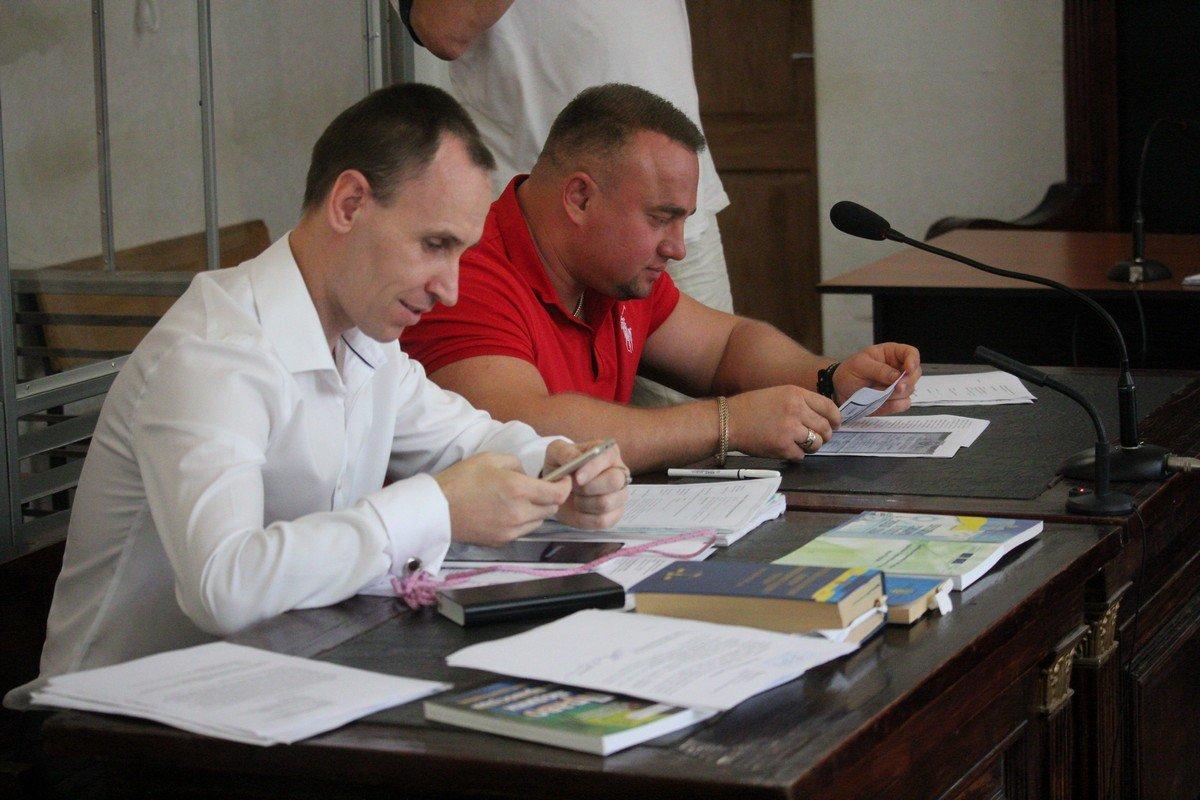Александр Кириллов с адвокатом Сергеем Довгалем