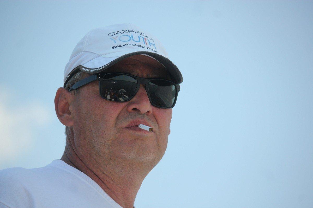 Михаил Сколяров - владелец яхты