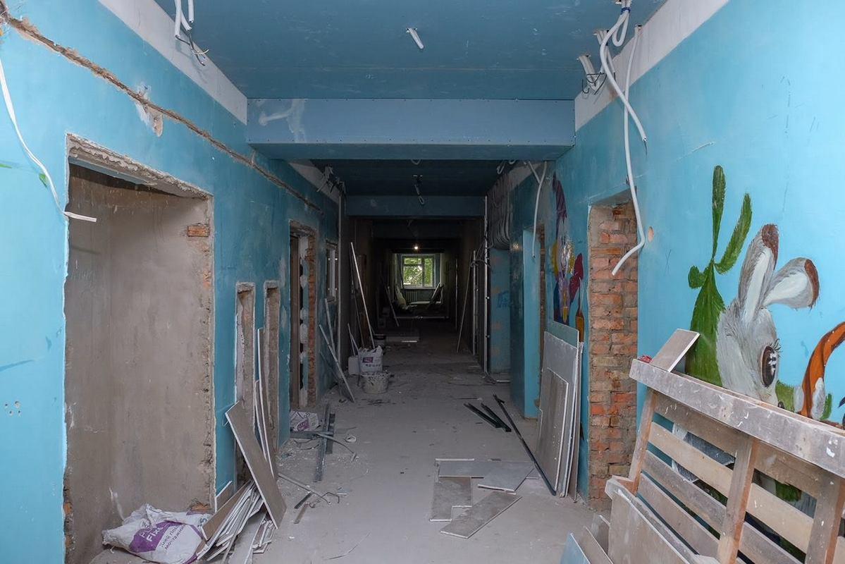 Вот так выглядела больница до ремонта