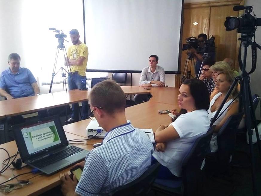 Пресс-конференция с заместителем городского головы Сергеем Тыхенко
