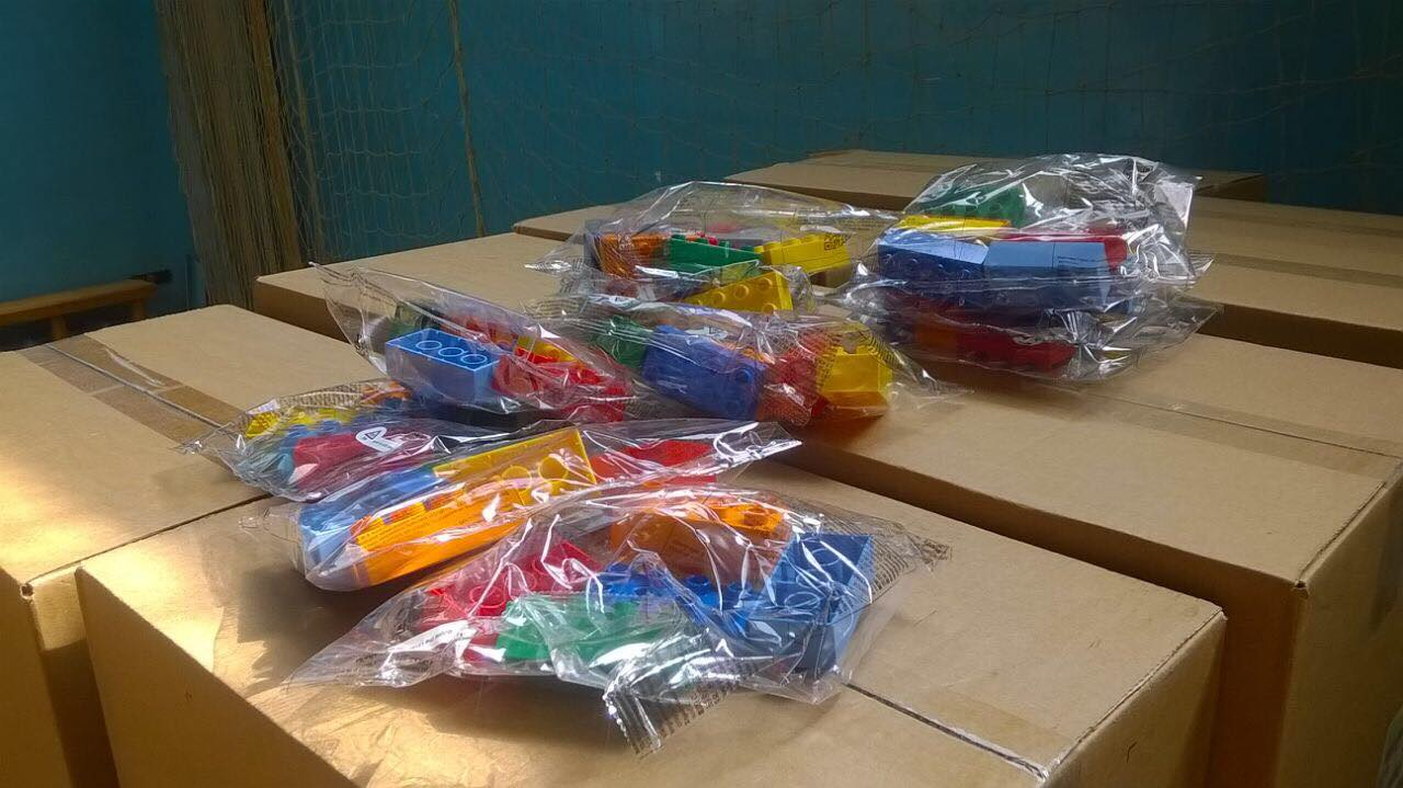 В Никополе первоклассники будут учиться с помощью LEGO