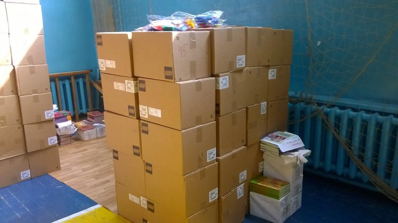 Игровые наборы раздадут по всем школам города
