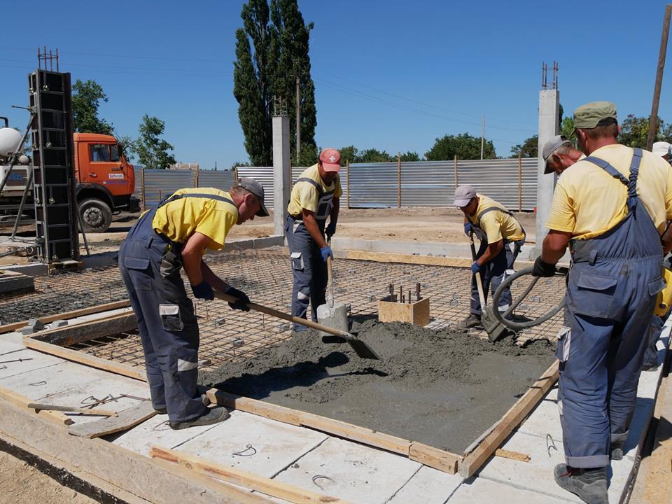 Ведут строительство детского сада