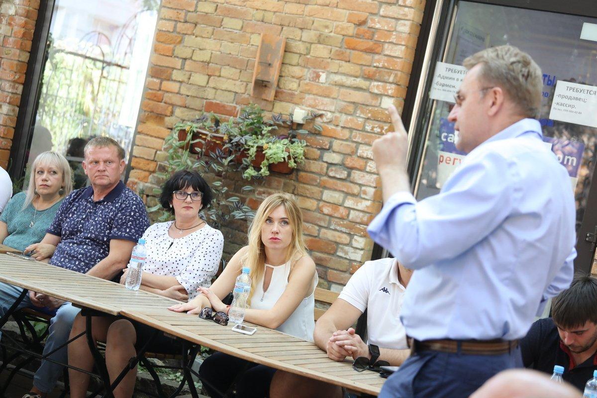Під час зустрічі обговорили питання розвитку бізнесу та економіки, а також можливостей для співпраці влади і підприємців