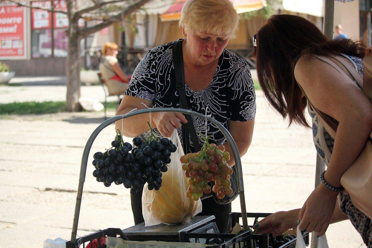 Дыни и виноград в Никополе самые вкусные