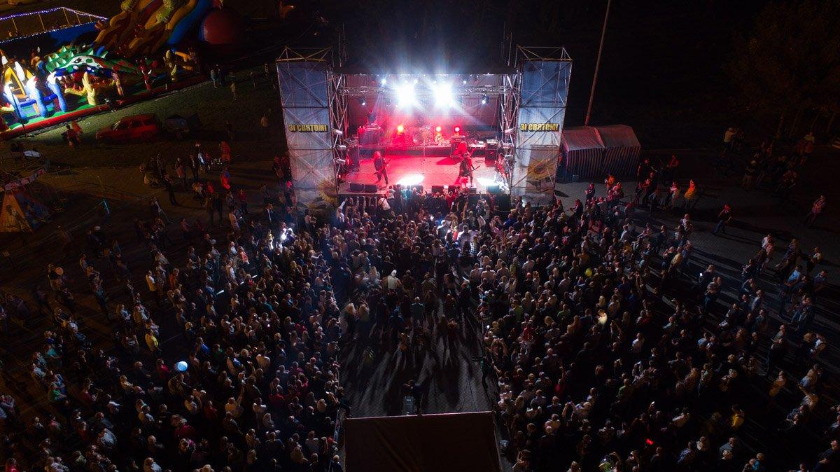 На главной сцене города спели«Green Grey», «O.Torvald», «Rocketheads» и другиеизвестные украинские музыканты