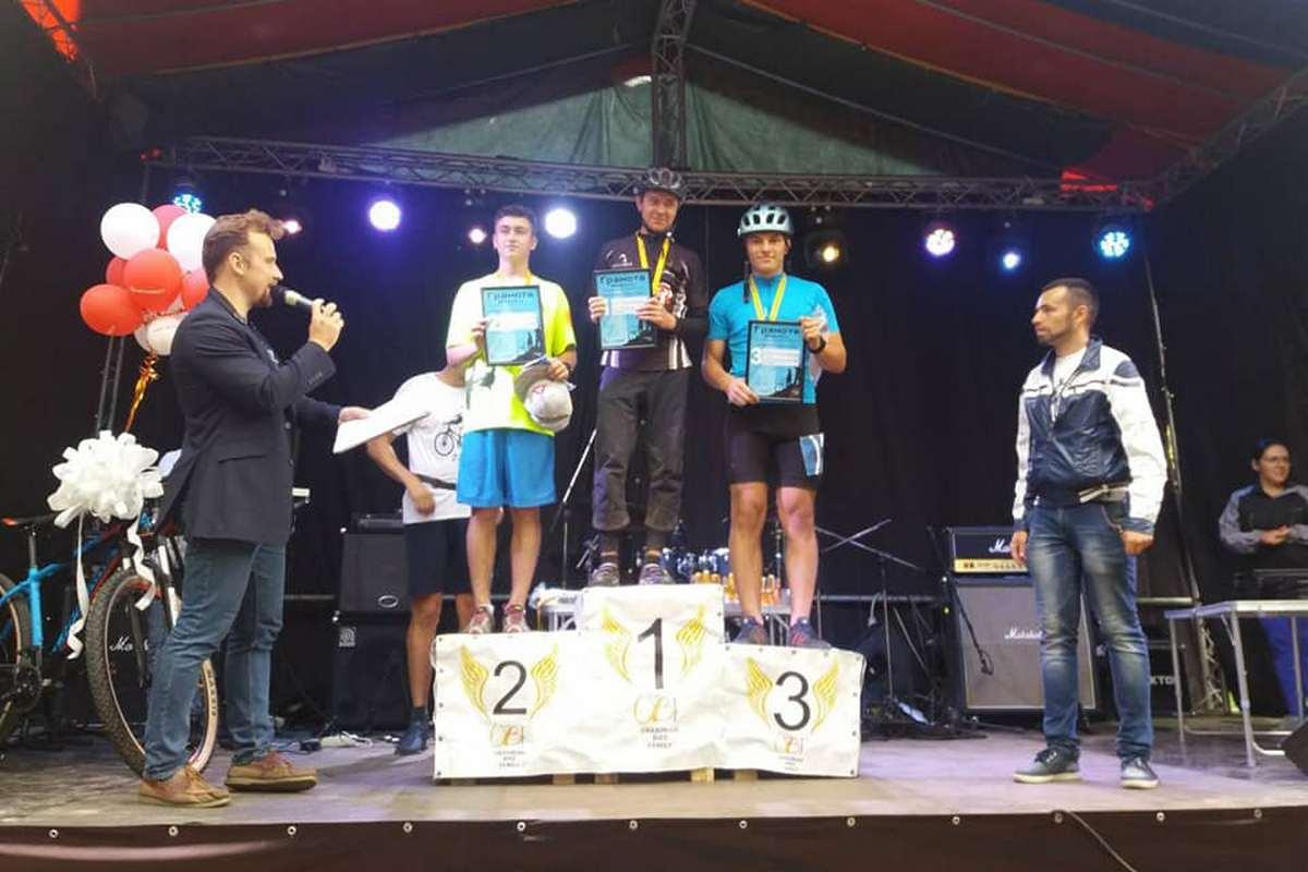 Велосипедисты из Никополя заняли три первых места