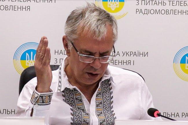 """Глава Нацсовета по вопросам телевидения и радиовещания Юрий Артеменко: """"Я буду голосовать за вас"""""""