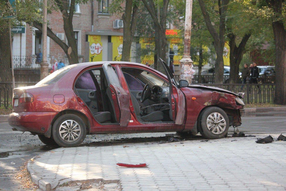 Daewoo не уступил дорогу автомобилю Lifan