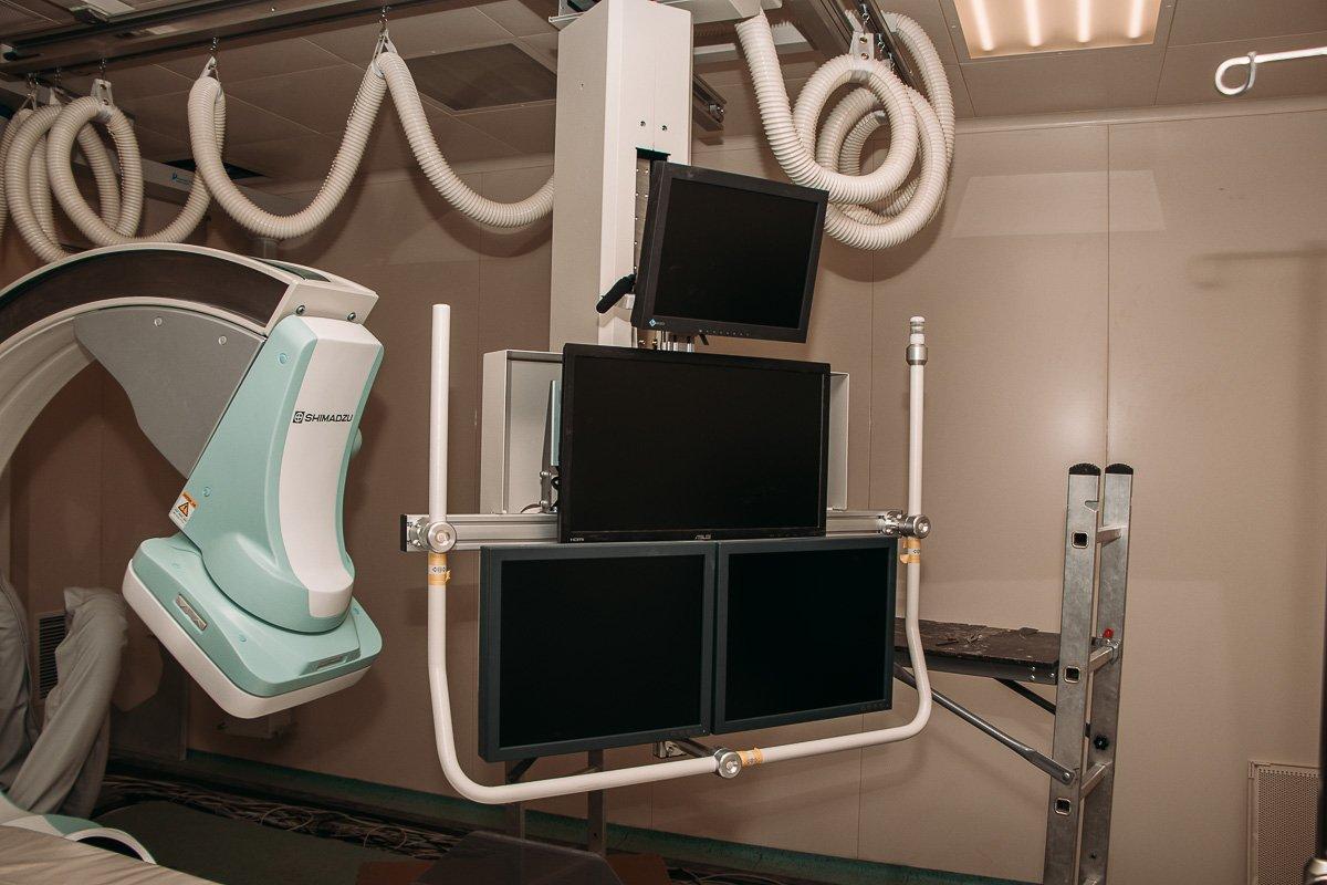 На 3-м этаже будет располагаться отделение хирургии головы и шеи