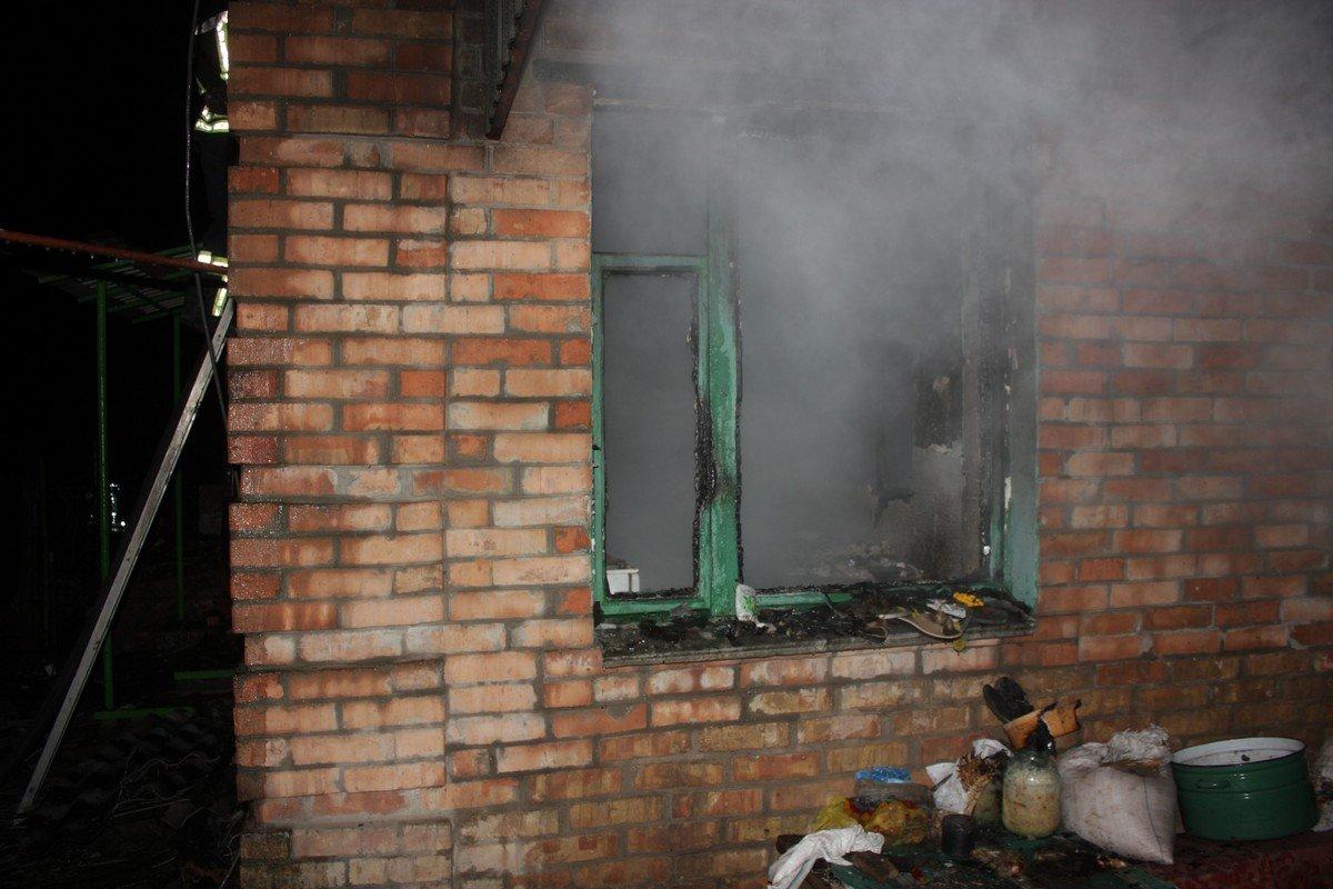 Пожар в доме на улице Святительской