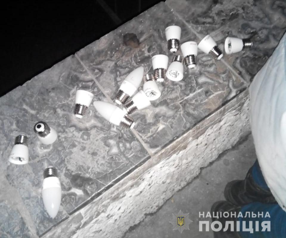 Трое несовершеннолетних разбили фонари и глиняные скульптуры