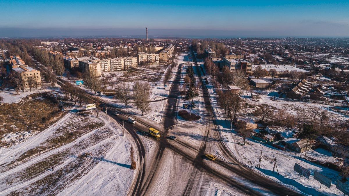 Знакомые улицы неузнаваемы с высоты