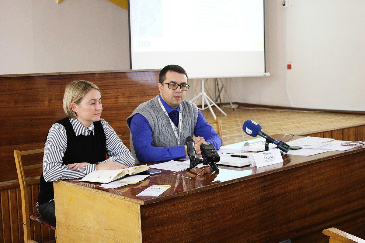 Начальник Никопольского РЭС ДТЭК Днепровские электросети Виктор Бондар