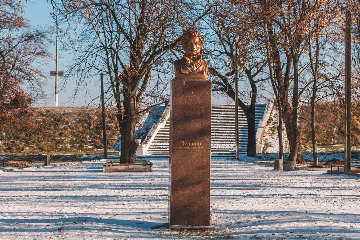 Парк А.С. Пушкина ждет своего возрождения