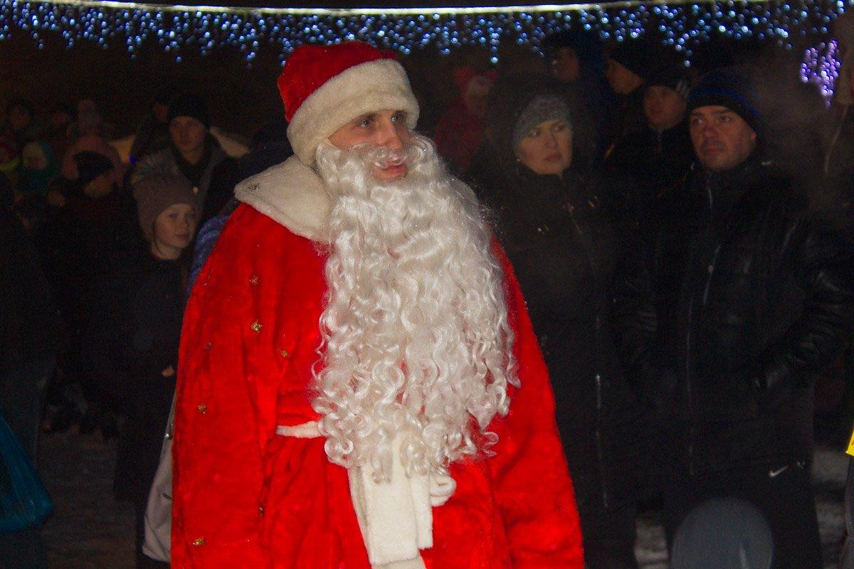 Грустный Дед Мороз. Фото: Мария Дымченко