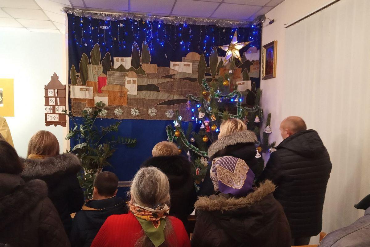 В Никополе встретили Рождество по Григорианскому календарю