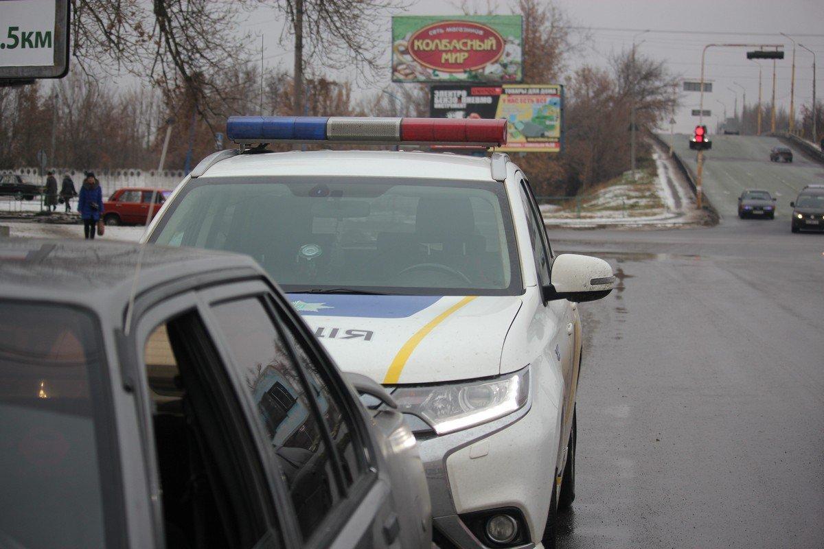 Полицейские выписали штраф