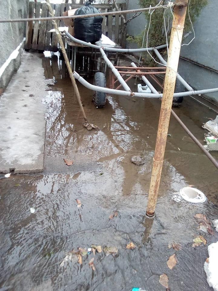 На Новопавловке затоплен частный сектор
