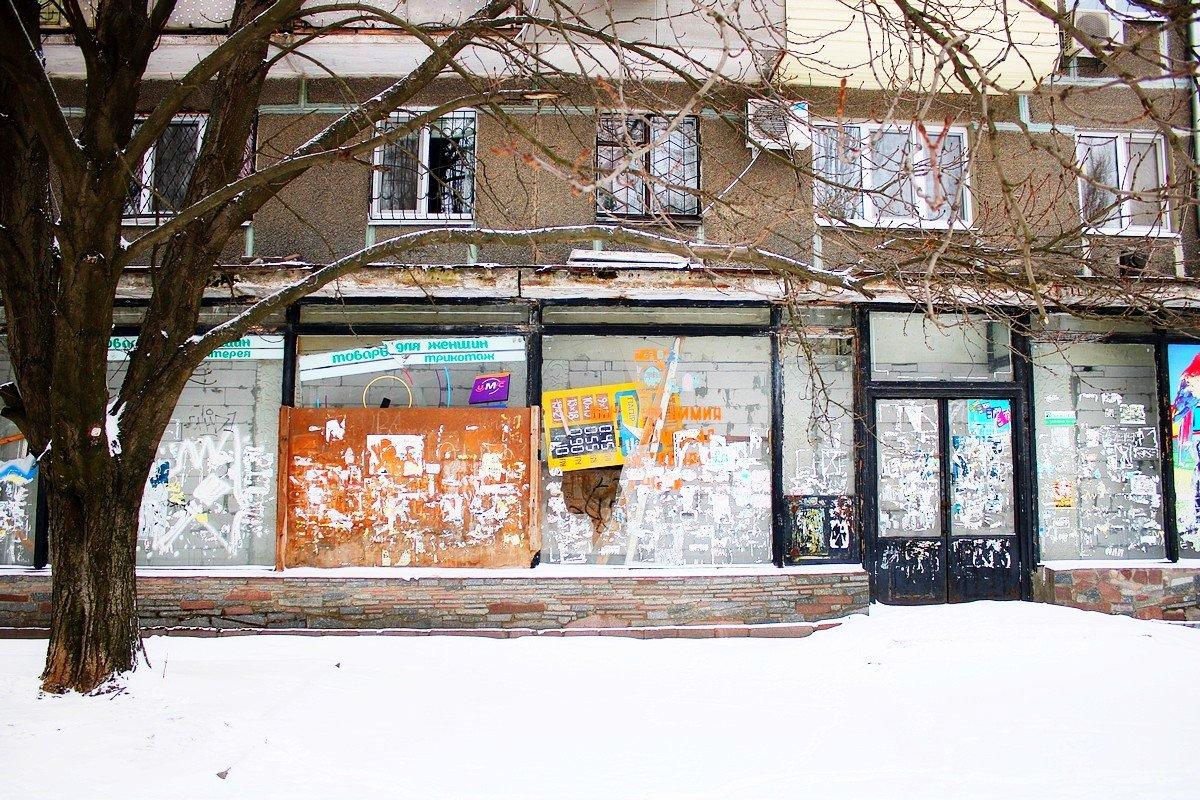 Заброшенное здание на улице Шевченко