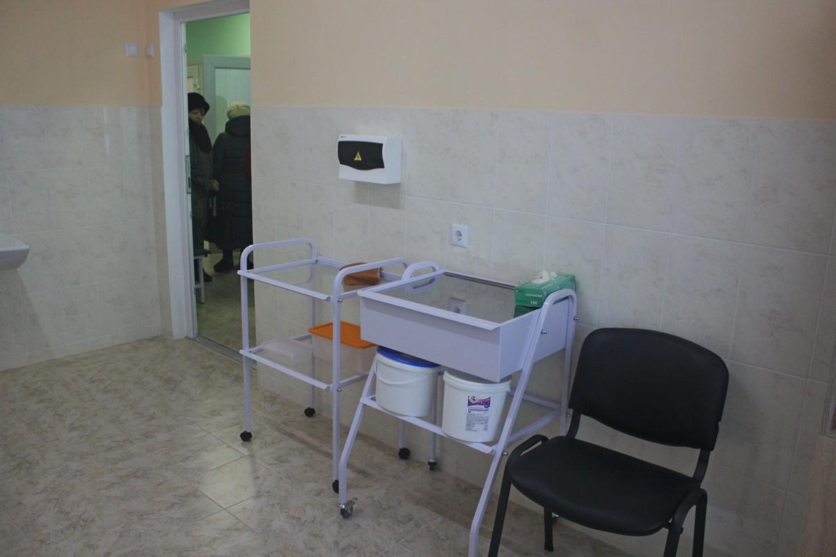 В амбулатории чисто и светло