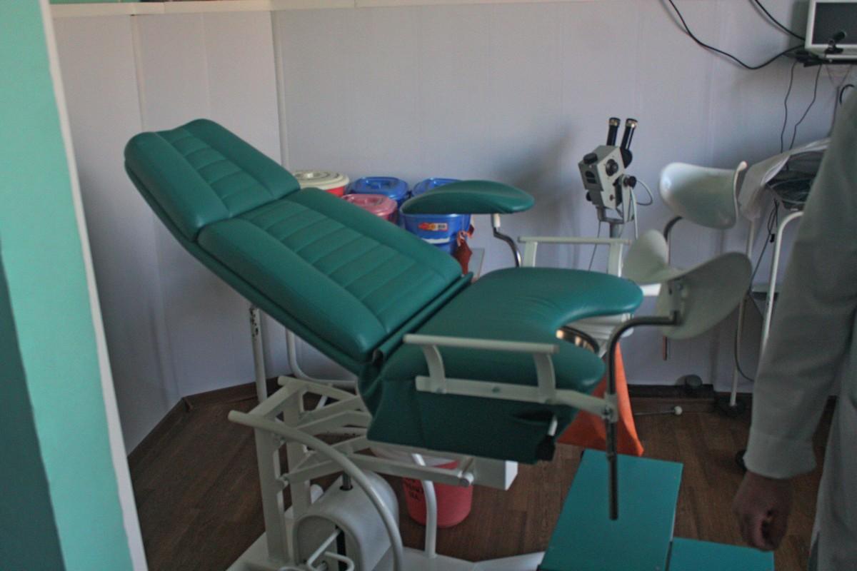 Новое гинекологическое кресло