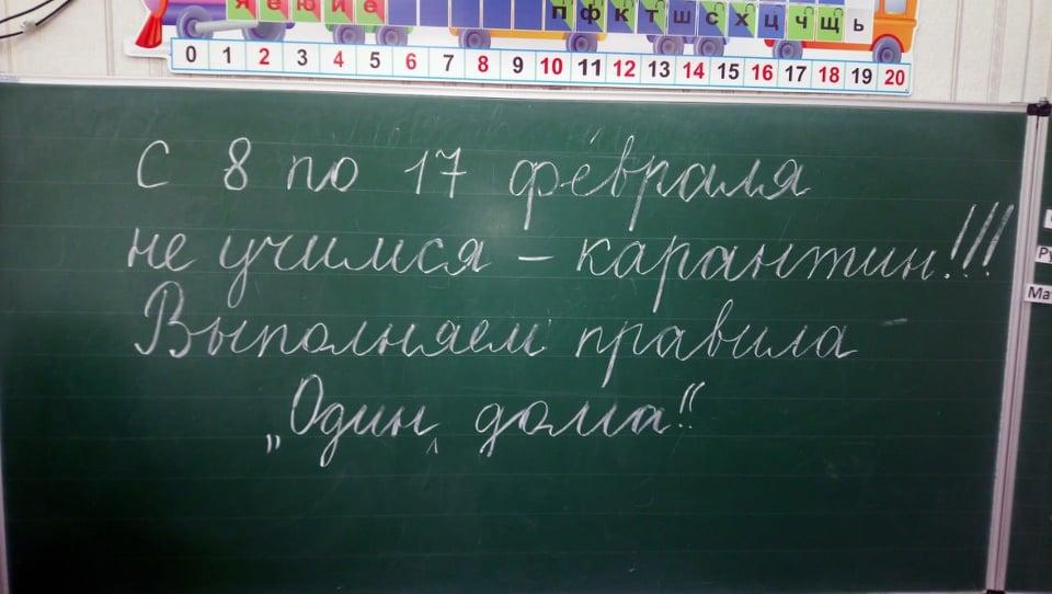 В школах Никополя объявили карантин из-за ОРВИ
