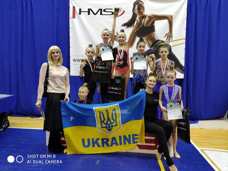 Международжный турнир по художественной гимнастике Sosnowiec Winter Cup 2019