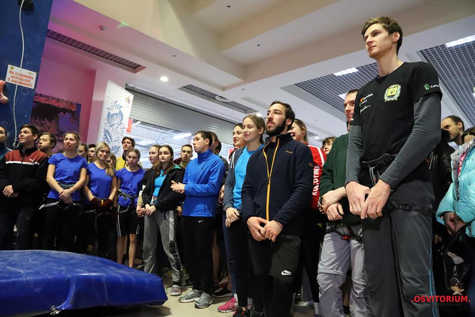 Соревнуются мастера спорта и кандидаты в мастера
