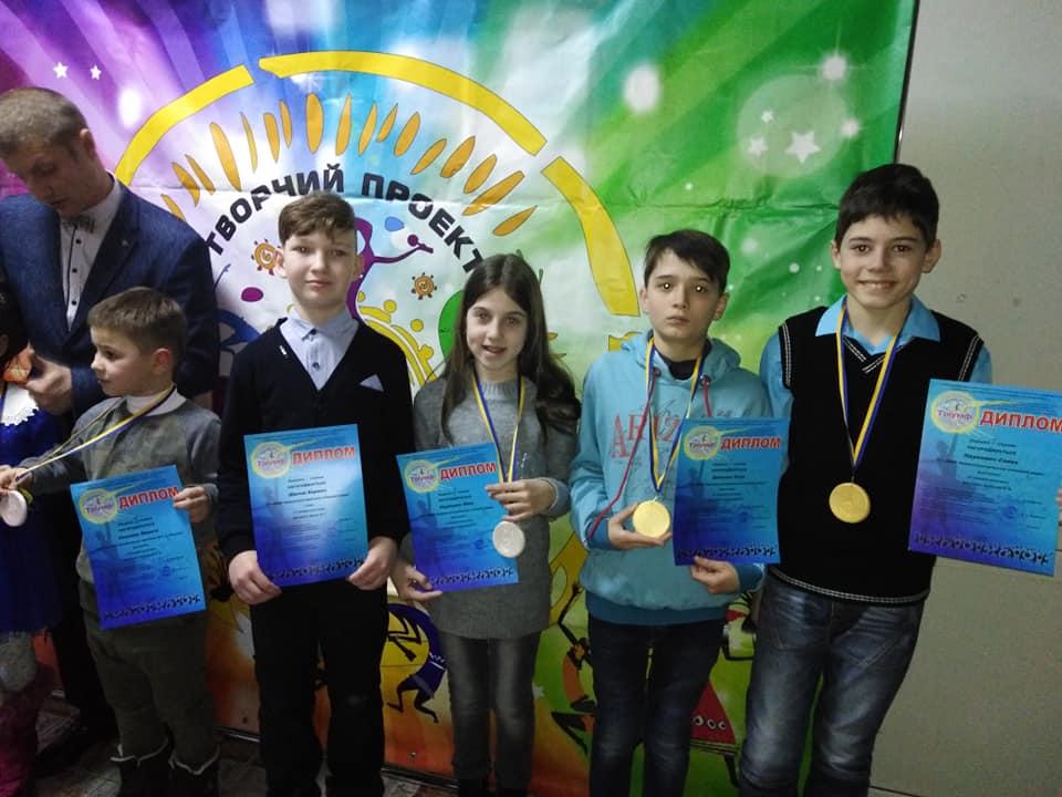 Семеро учащихся заняли призовые места