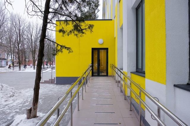 В школе - все удобства для людей с инвалидностью