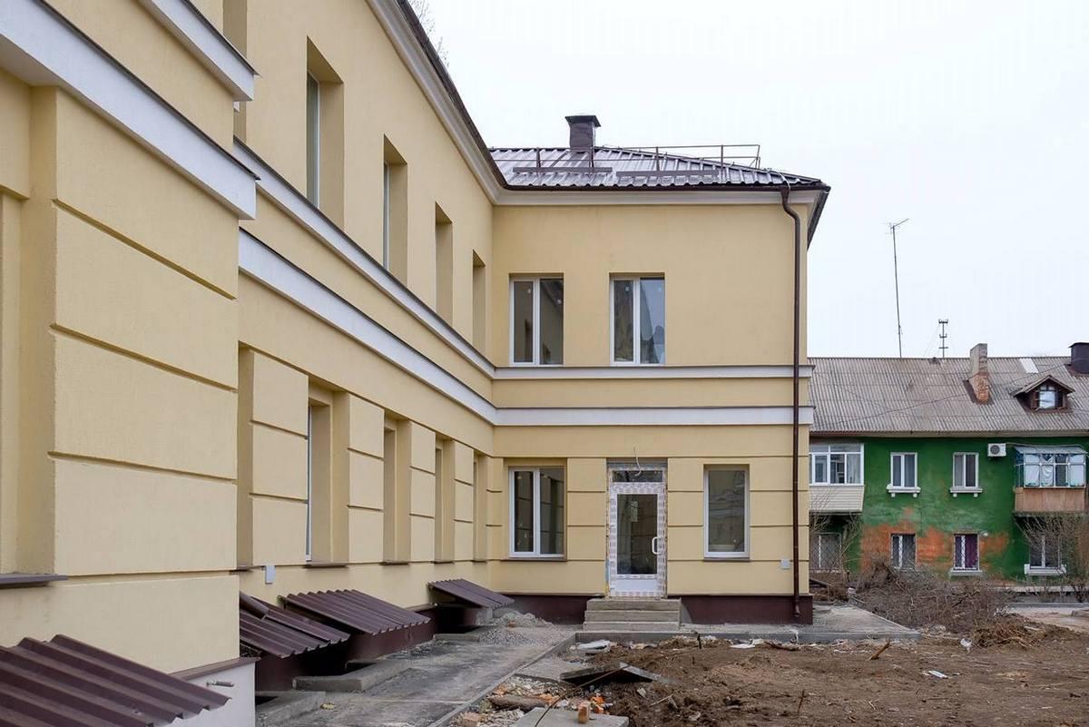 Обновленный фасад