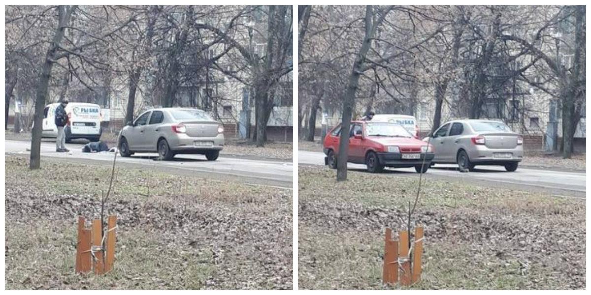 Полиция устанавливает место нахождение водителя скрывшегося с места ДТП