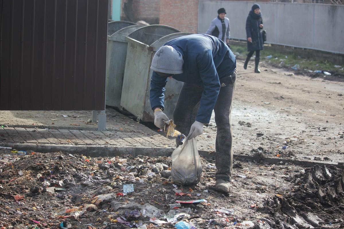 Выковыривать мусор из грязи - противно и нелегко