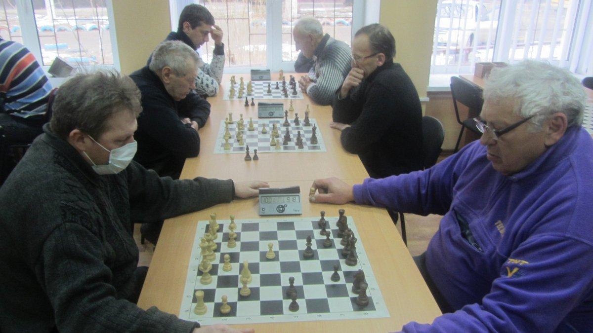 Турнир прошел в шахматно-шашечном клубе