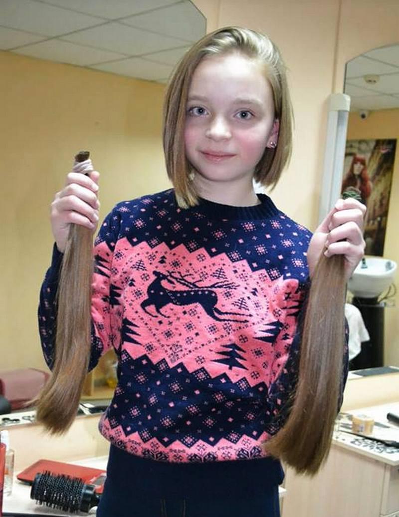 Волосы пойдут на парики