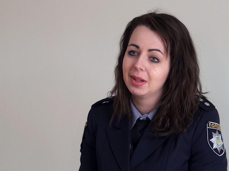 Старший следователь Никопольского отдела полиции Екатерина Паламаренко