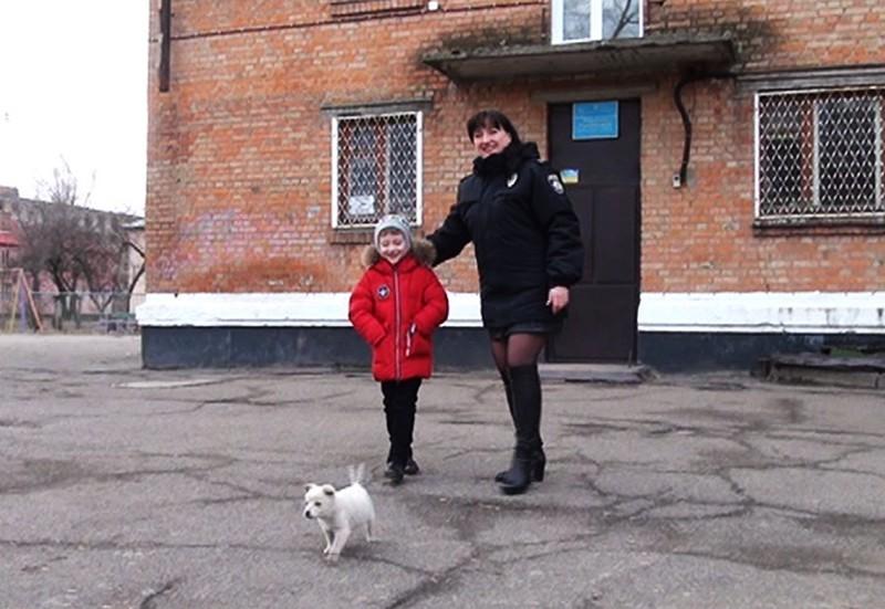 Алина вместе с сыном Денисом