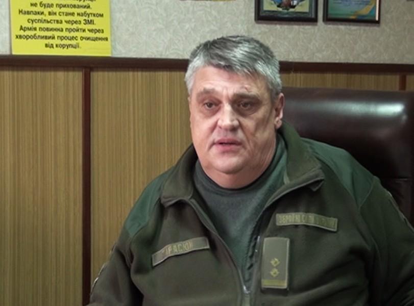Геннадий Тарасюк, военный комиссар Никополя